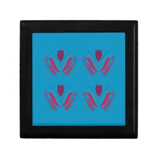 Design elements blue gift box