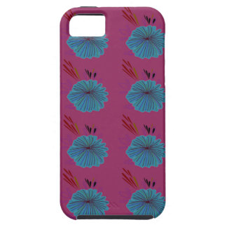 Design elements blue pink case for the iPhone 5