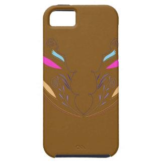Design elements brown ethno iPhone 5 case