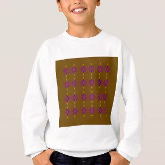 Design elements brown  folk sweatshirt