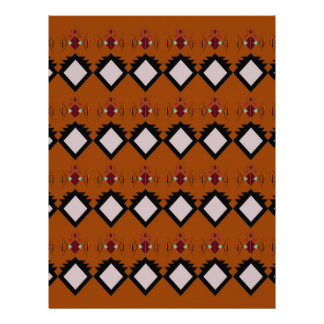 Design elements brown letterhead