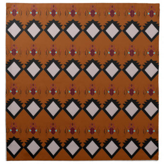Design elements brown napkin