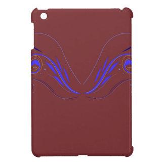Design elements choco blue cover for the iPad mini