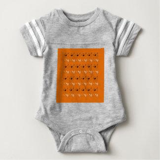 Design elements clay colour baby bodysuit