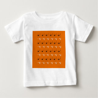 Design elements clay colour baby T-Shirt