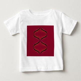 Design elements deep  Red Baby T-Shirt