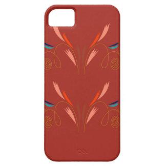 Design elements eco brown iPhone 5 case
