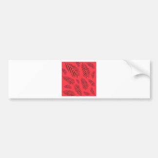 Design elements ethnic bumper sticker