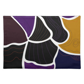 Design elements ethnic placemat