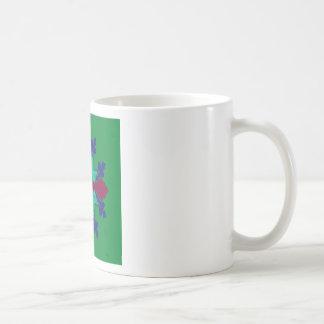 Design elements ethno Mandala green Coffee Mug