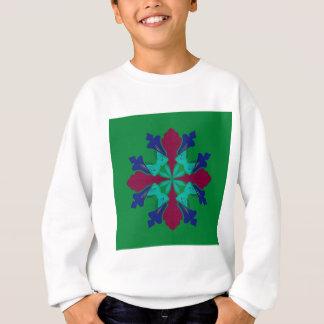 Design elements ethno Mandala green Sweatshirt