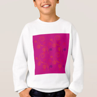 Design elements ethno Pink Sweatshirt