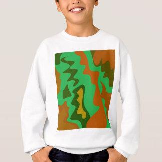Design elements  exotic Camu green Sweatshirt