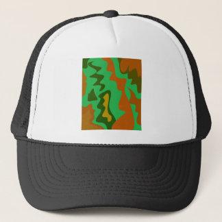 Design elements  exotic Camu green Trucker Hat