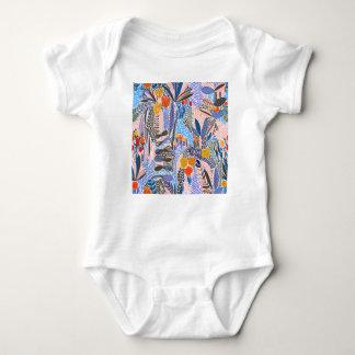Design elements  Flowers ethno  Folk Baby Bodysuit