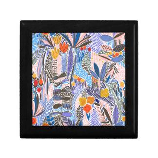 Design elements  Flowers ethno  Folk Gift Box