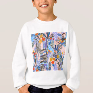 Design elements  Flowers ethno  Folk Sweatshirt
