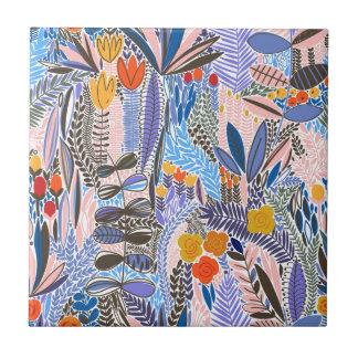 Design elements  Flowers ethno  Folk Tile