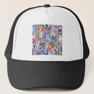 Design elements  Flowers ethno  Folk Trucker Hat