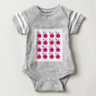 Design elements  Flowers Pink Baby Bodysuit