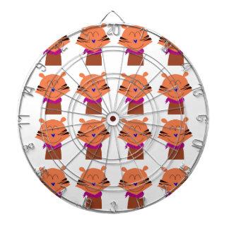 Design elements  Foxes kids edition Dartboard