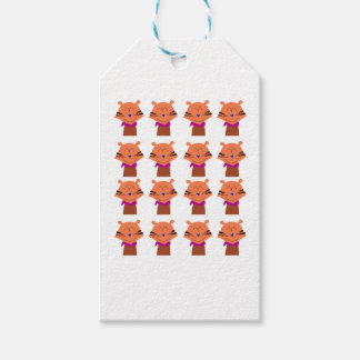 Design elements  Foxes kids edition Gift Tags