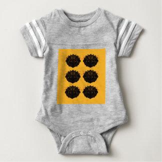 Design elements gold black / Sand edition Baby Bodysuit