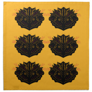 Design elements gold black / Sand edition Napkin