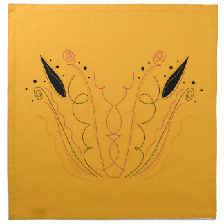Design elements gold napkin