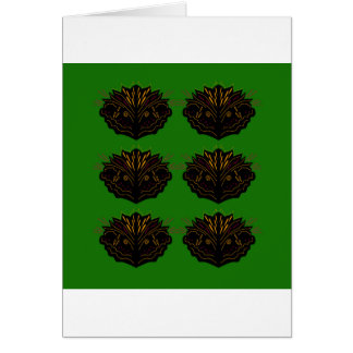 Design elements green Eco black Card