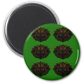 Design elements green Eco black Magnet