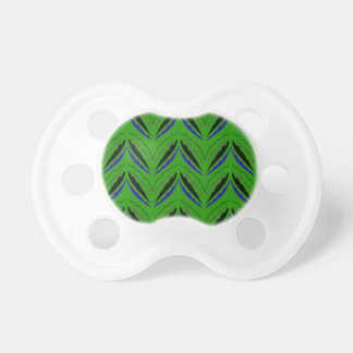 Design elements green eco pacifier
