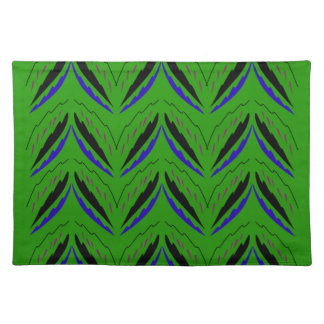 Design elements green eco placemat