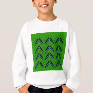 Design elements green eco sweatshirt