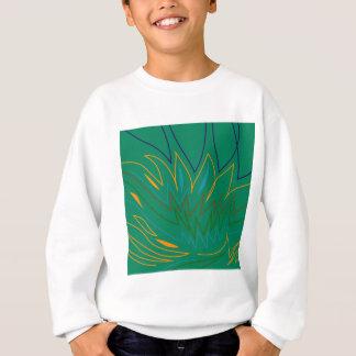 Design elements green ethno sweatshirt