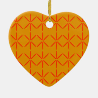 Design elements honey  red ceramic ornament