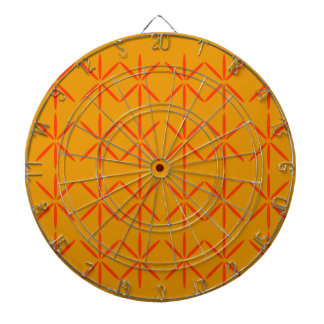Design elements honey  red dartboard