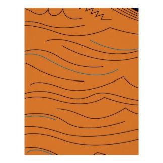 Design elements hot aztecs letterhead