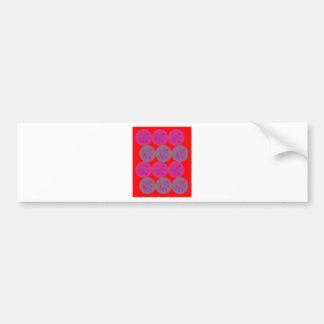 Design elements Lemons ethno wild Bumper Sticker