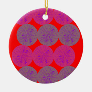 Design elements Lemons ethno wild Ceramic Ornament