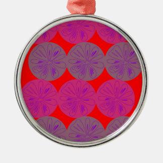 Design elements Lemons ethno wild Metal Ornament