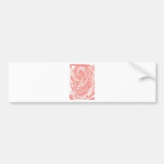 Design elements marble bumper sticker
