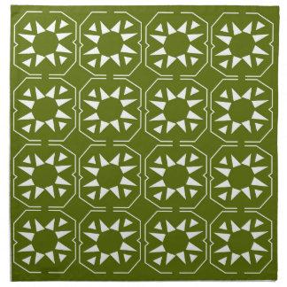 Design elements olives Ethno Napkin