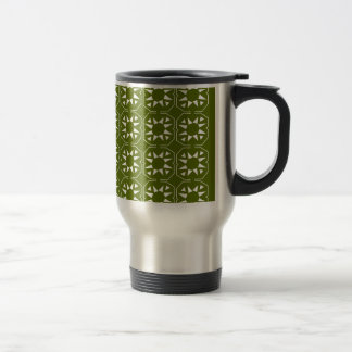 Design elements olives Ethno Travel Mug