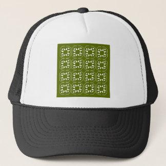 Design elements olives Ethno Trucker Hat