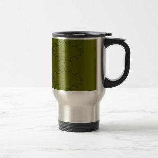 Design elements olives travel mug