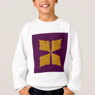 Design elements on choco sweatshirt