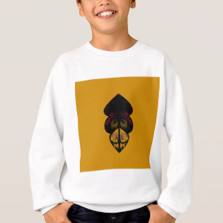 Design elements on Gold Sweatshirt