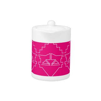 Design elements on pink