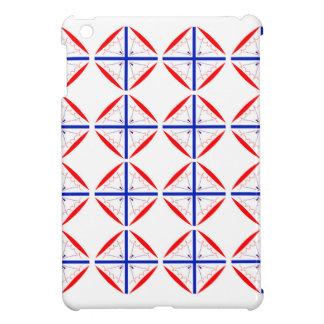 Design elements on white case for the iPad mini